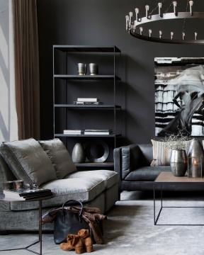 Gino dekoration svart 1