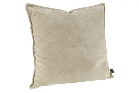 KELLY PLAIN Kuddfodral 50x50 beige 1