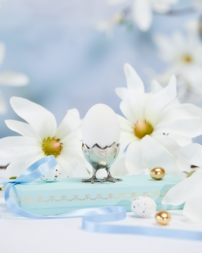 Äggkopp tenn 1