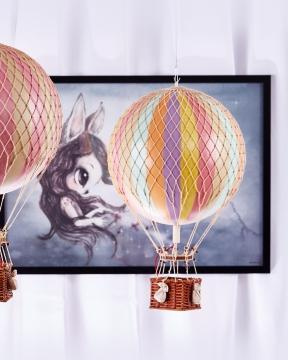 Royal Aero luftballong regnbåge pastell 4