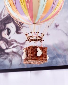 Royal Aero luftballong regnbåge pastell 2