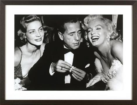 Bacall, Bogart & Monroe 1