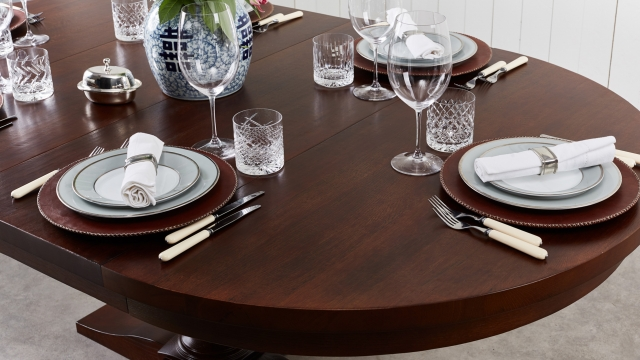 Matbord Provence Rich Brown 5