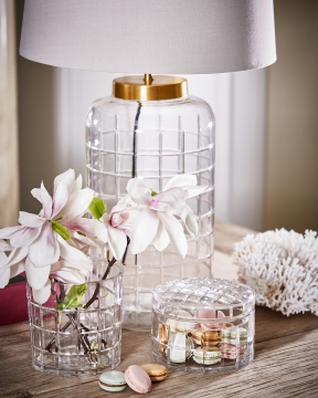 Clark bordslampa kristall 4