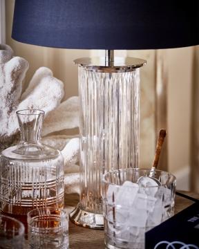 Wilson Classic bordslampa kristall 4