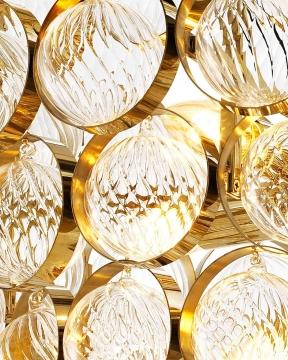 Opera takkrona guld 2