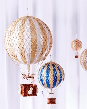 Royal Aero luftballong vit 4