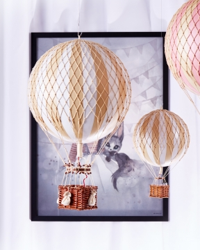 Royal Aero luftballong vit 2