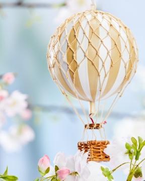 Floating The Skies luftballong vit 5