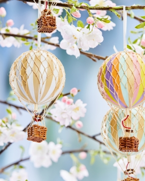 Floating The Skies luftballong vit 4