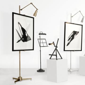 Warhol staffli mässing