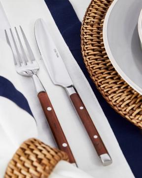 Nobu gaffel brun 1
