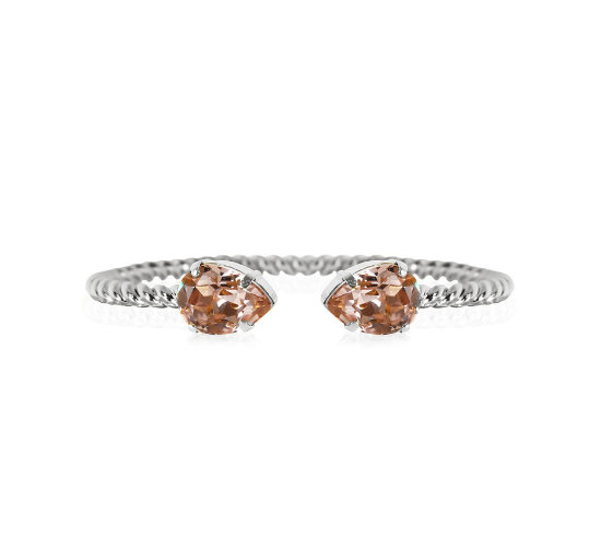 Listbild mini drop bracelet vintagerose rhodium