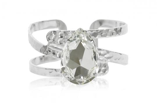 Perfect Drop Bangle armband crystal rhodium 1