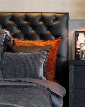 Vienna sänggavel svart 180cm 3