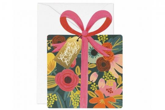 Birthday Present Kort 1