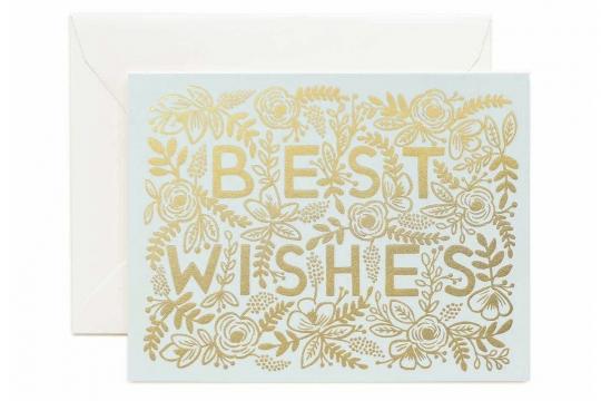 Golden Best Wishes Kort 1