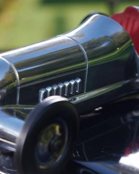 Indianapolis modellbil silver 2