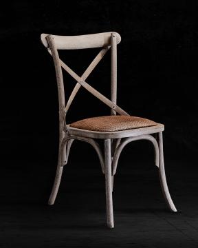 Newport Cross Chair Drifted Oak 4