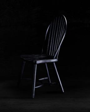 Newport Windsor Chair Black 1