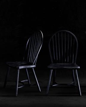 Newport Windsor Chair Black 2