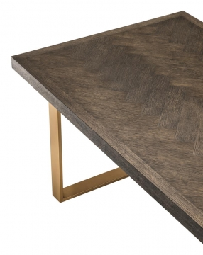Matbord Melchior Brown Oak 4