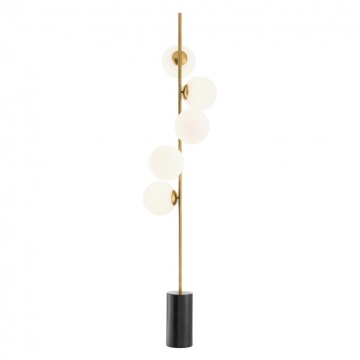 Golvlampa Tempo Antique Brass 1