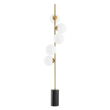 Golvlampa Tempo Antique Brass 2