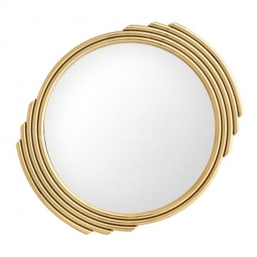 Spegel Cesario Round Gold 1