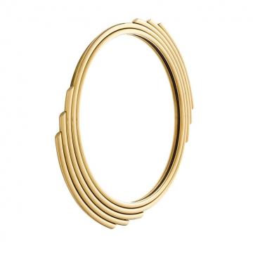 Spegel Cesario Round Gold 2