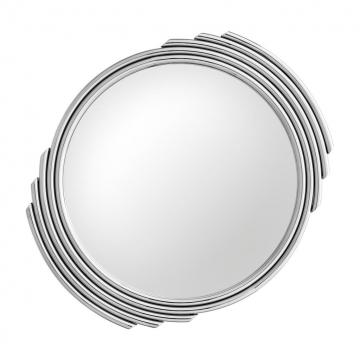 Spegel Cesario Round Silver 2