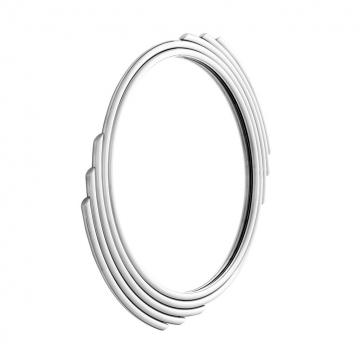 Spegel Cesario Round Silver 1