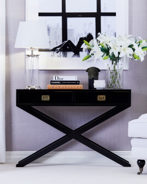 Ashley konsolbord svart 2