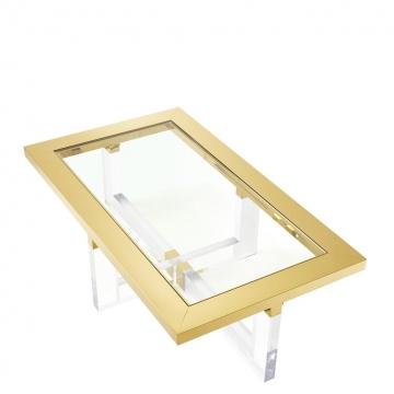 Soffbord Horizon 140x80 Gold 1