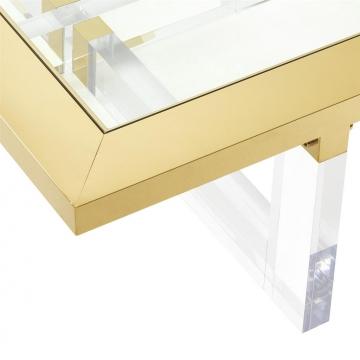 Soffbord Horizon 140x80 Gold 2