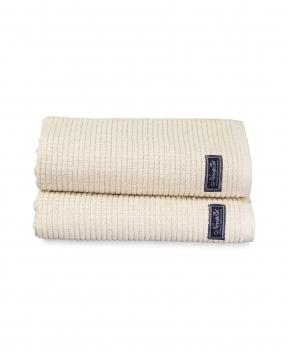 Fisher Island handdukar beige 2-pack 3