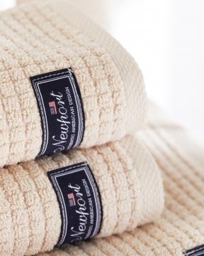 Fisher Island handdukar beige 2-pack 1