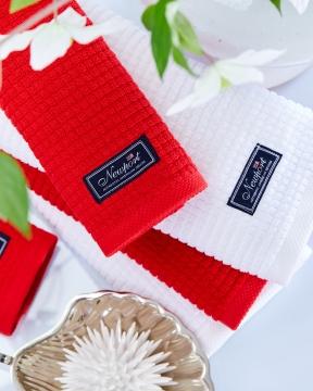 Fisher Island handdukar röd 2-pack 2