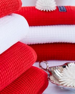 Fisher Island handdukar röd 2-pack 6