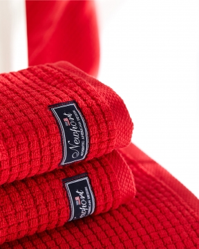 Fisher Island handdukar röd 2-pack 1