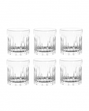 Manhattan tumblerglas kristall 6-pack 3