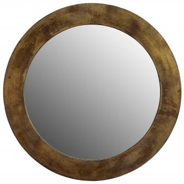 Enya spegel mässing rund 1