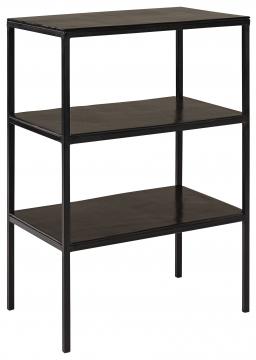 Mille sängbord svart 1