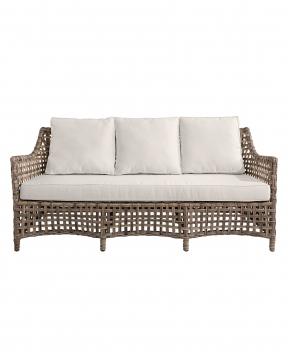 Malaga soffa 3-sits classic grey 1