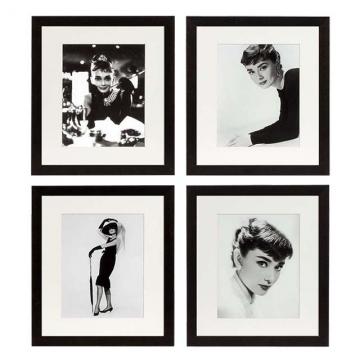 Tavlor Audrey Hepburn Set of 4 1