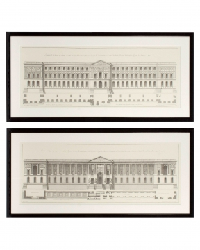 La façade du Louvre 1