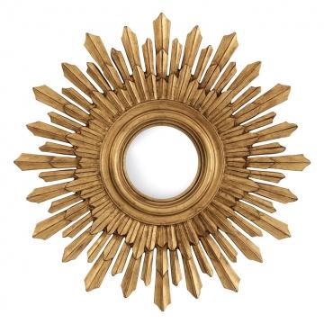 Spegel Sol antique gold 1