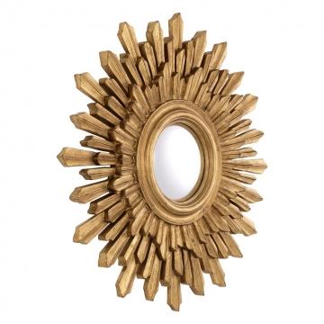 Spegel Sol antique gold 2
