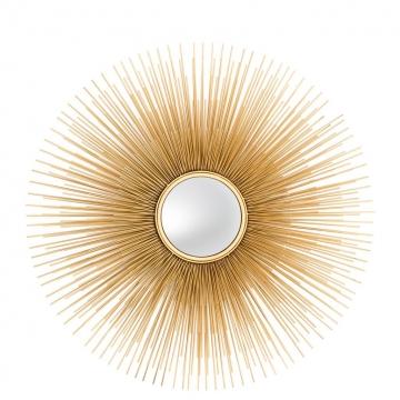 Spegel Solaris Guld L 1