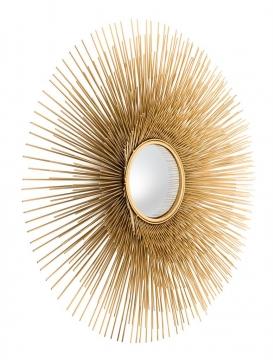 Spegel Solaris Guld L 2